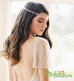 唯美新娘发型高贵优雅范儿十足